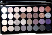 It's All About The Eyes /  All about the eyes- eyeshadow, eyeliner, mascara, brow products, etc.