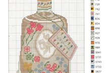 bottle cross stich
