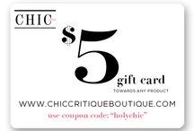 Chic Boutique / by Chic Critique