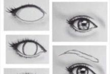 göz çizim