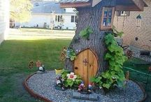Fairy garden, fairy figurines