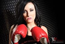 Chicks Boxing!!! Love it!!