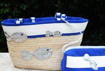 les panier artisanaux NANACARA / NANACARA vous propose des paniers fait mains dans notre atelier ! Chaque panier est le coordonné d'une gamme de maillot pour vous sublimer sur la plage !