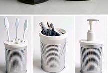 Come riciclare barattoli