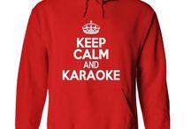 Karaoke Apparel / Love your Karaoke, wear it with pride