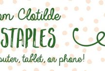 Clotilde recipes