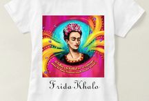 Camisetas Frida Khalo