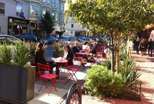 Parklets / Small little parklets can make a big impact on streets, see blog post here http://commercialdistrictadvisor.blogspot.com/2014/10/best-practices-in-city-led-parklet.html