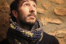 Cuellos y bufandas / Productos hechos a mano por nosotros para ti!