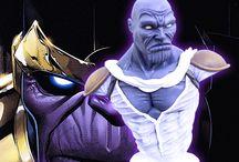 figura thanos / Busto realizado a mano de Thanos