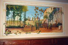 Decorazioni su parete