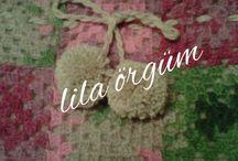 Lila örgüm / Özel tasarımlar