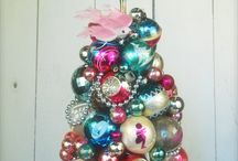 Christmas ornament tree