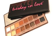 Tuesday in Love Halal Cosmetics Eyeshadow / Our favourite eyeshadows and makeup designs