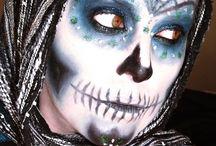 Maquillajes Halloween / Varias ideas de maquillaje para halloween.