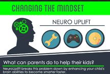 Infographics / Information on how NeuroUplift is changing the learning styles of education.