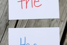 learning fun - sight words