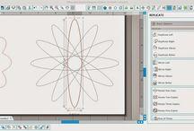 Tutorials Silhouette Cameo / De Silhouette Cameo in combinatie met de software kan veel. Wat en hoe, dat verzamelen wij op dit bord
