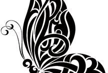 Дизайн бабочки