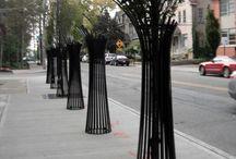 решетки деревьев