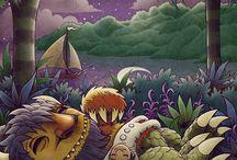 Art we love / Art that inspires children's website Night Zookeeper