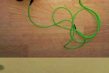 Green x Orange = don't