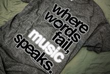 Music is L<3ve. / When words fail, music speaks.
