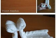 handdoeken en servetten