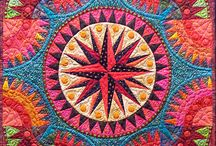 Beauteous New York Beauty Quilts / Lovely quilts using traditional and non-traditional New York Beauty blocks