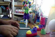 Клоуны из фома