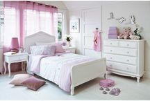 Girl's... room ideas, wishes and wants / by Justine Barker