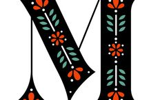 M - m / Billeder af bogstavet 'M'