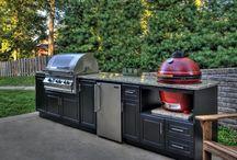 outdoor custom grill