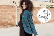 CURVY Go&Style / Nueva línia de ropa CURVY de la talla 42 hasta la 62. La nueva temporada aw16 viene llena de artículos ideales para crear looks adaptados a todos los cuerpos.
