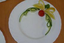Food garnishes