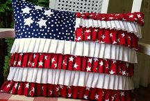 Americana/Fourth of July Crafts