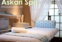 Askari Spa / Askari Spa at Askari Game Lodge reflects the environment that surrounds it – African veldt and wildlife rise up to meet the African sky and majestic Magaliesberg mountain range. This Big 5 Game lodge is scenically set between Hekpoort and Magalieburg and pays tribute to South Africa's rich archeological and cultural history within a malaria-free environment.