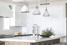 White and antique kitchen