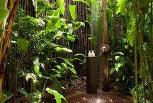 duchas de jardín
