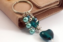 Beaded Keychains, Bag Charms & Trinkets / Inspirations for Risa