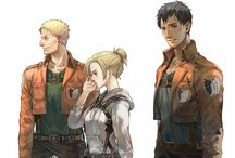 Titan Trio(Snk) / We stopped being kids the day they sent us down here to die.  We fought the war, but the war won.