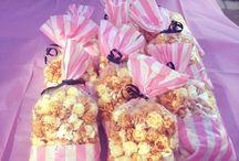 traktaties popcorn