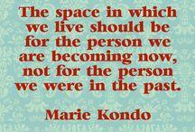 Declutter...Marie Kondo way