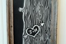 Chalk board / by Jessica Babich