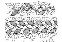 Lovely Lines / Zentangles & doodles & other line art