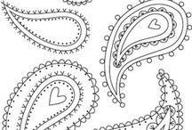 Diseños bordados