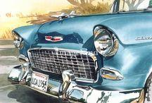 Art | Cars / Wall art featuring cars by Imagekind artists.