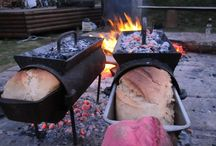Site: cooking outdoors