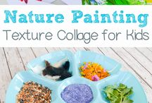 Nature art/craft activities