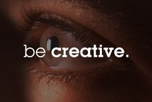 Be Creative / Creativity is more than art. It's the source of everything amazing in our lives. Learn more here: http://w.fullsail.edu/1RHOalA / by Full Sail University